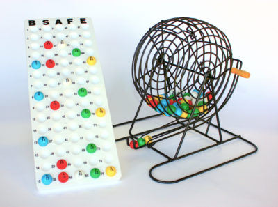 Safety Bingo Cage Set